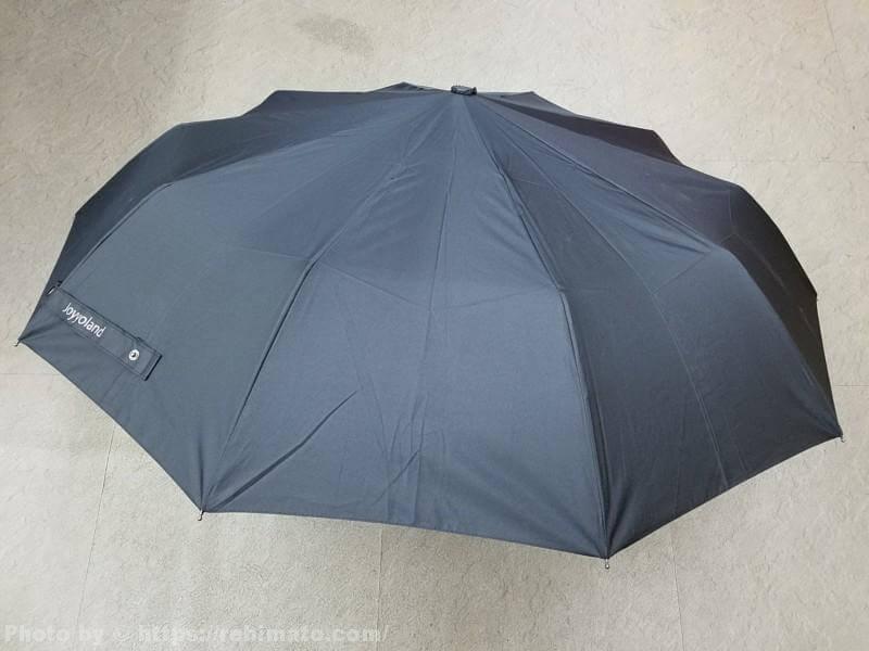 ☂急な雨にも安心☂ 【レビュー】joyyoland ワンタッチ 折りたたみ傘