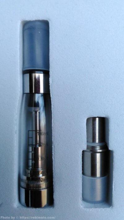 【レビュー】プルームテック タバコカプセルがVAPEで使える!eGo-T、eGo-CE4 電子パイポ互換ドリップチップ カトマイザー付
