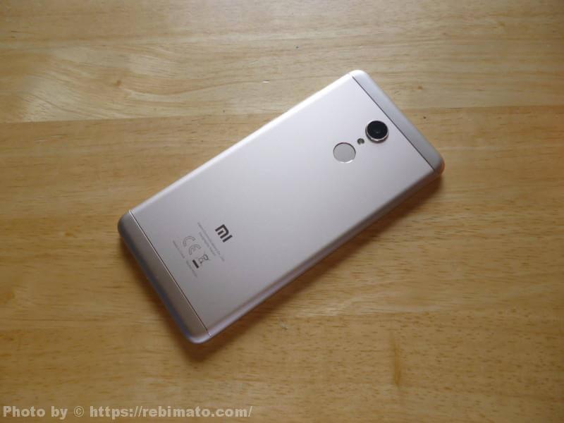 Xiaomi Redmi 5 裏面