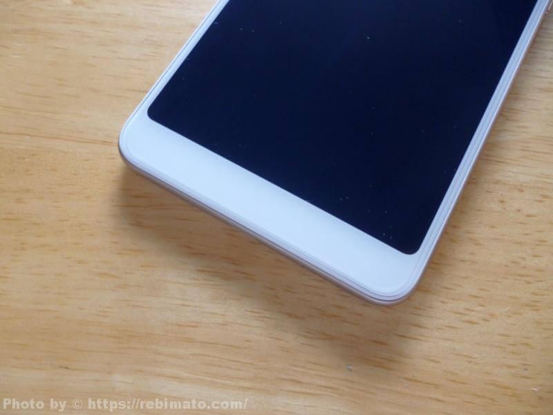 Xiaomi Redmi 5 画面下部分