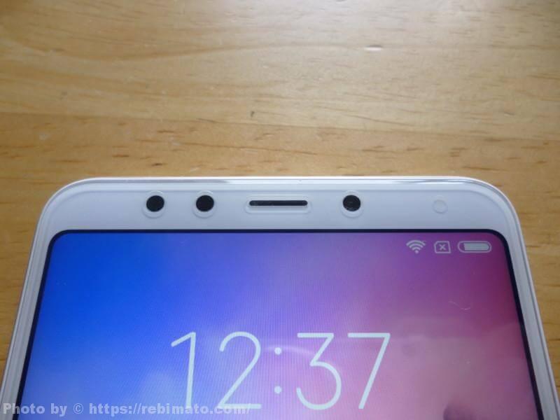 Xiaomi Redmi 5のカメラやセンサー