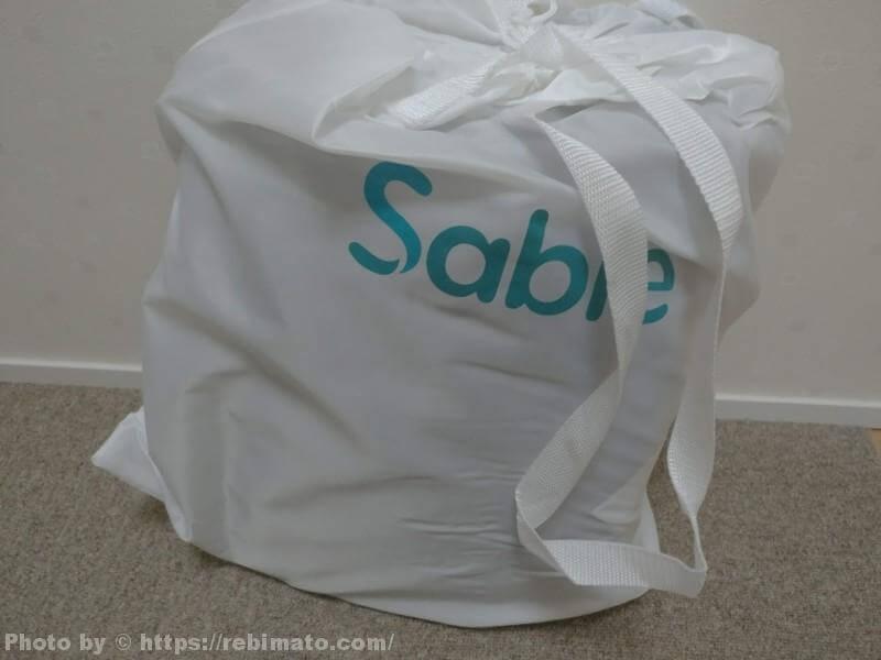Sable SA-HF010 エアーベッド 梱包
