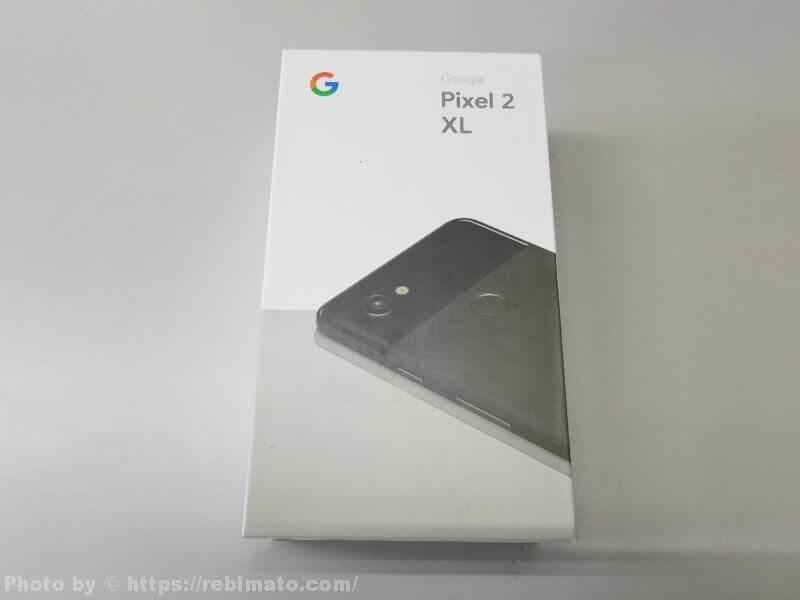 Google Pixel 2 XL 外箱