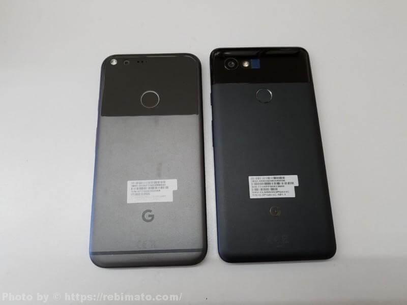 Google Pixel 新旧比較