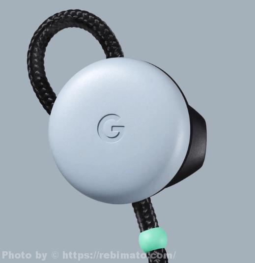 Google Pixel Buds ブルー