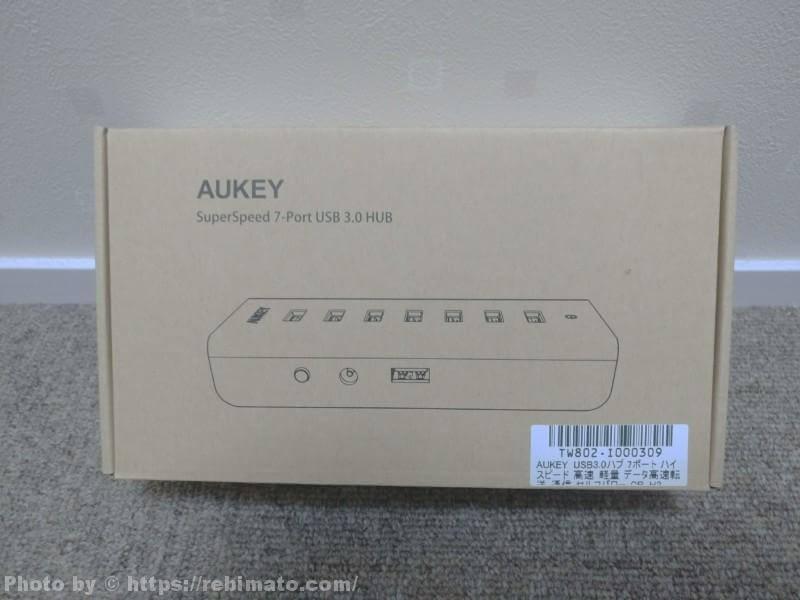 AUKEY USB3.0ハブ CB-H3 パッケージ