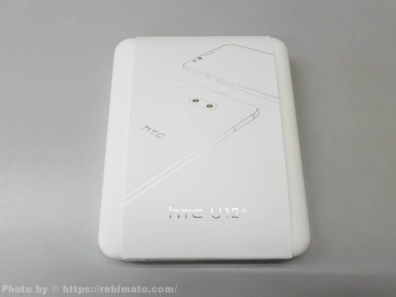 HTC U12+ パッケージ