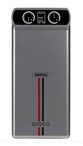 REMAX KINGREE 10000mAh モバイルバッテリー カラー