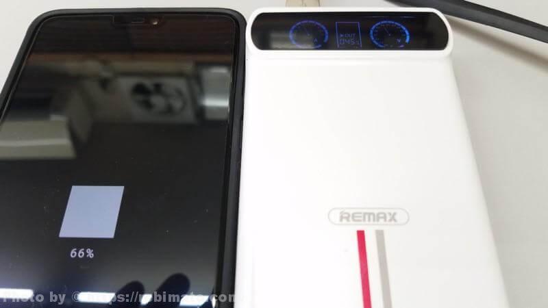 REMAX KINGREE 10000mAh モバイルバッテリー