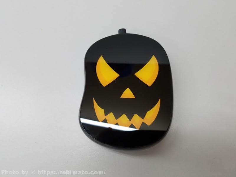 【レビュー】ハロウィンにピッタリ!かぼちゃ型 モバイルバッテリー