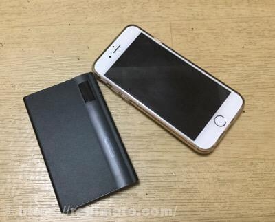 REMAX LINON PRO 10000mAh モバイルバッテリー レビュー
