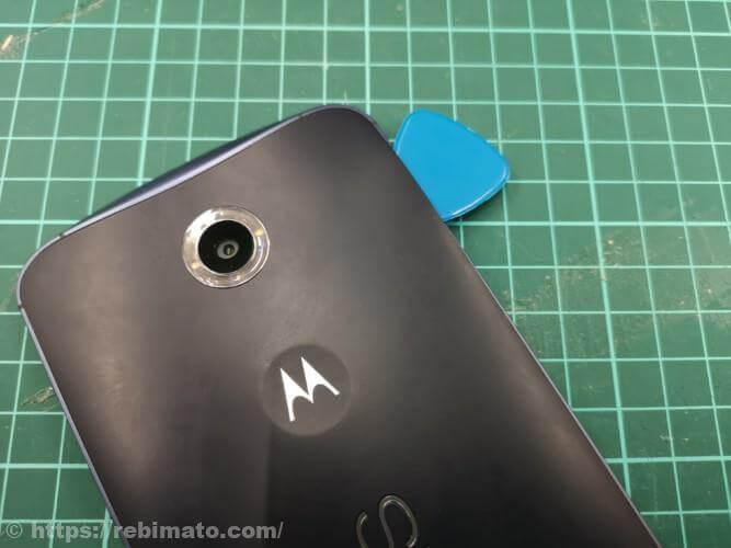 Nexus 6を分解