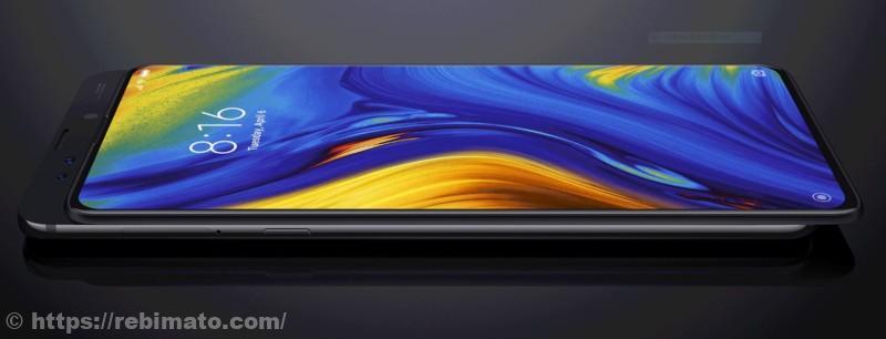 Xiaomi Mi Mix3の外観