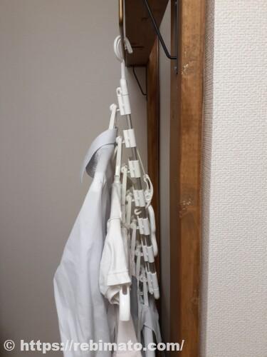 引っ張るだけ!時短 アルミ洗濯ハンガー48P + のびのび 7連ハンガーセット