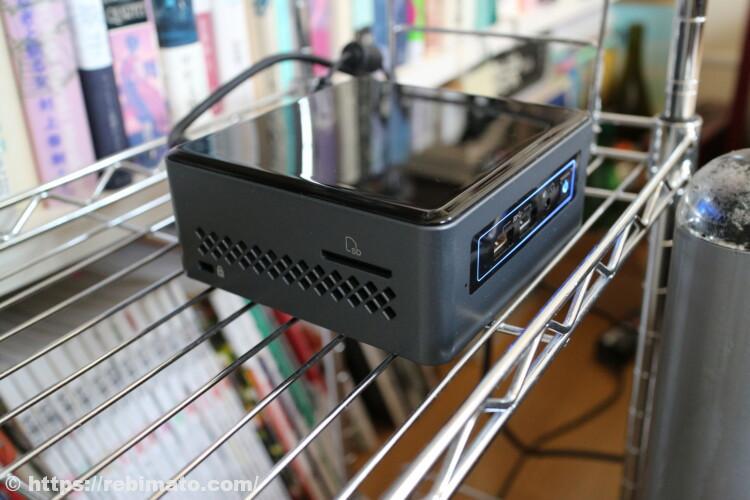 Intel NUC Celeron搭載 小型PC BOXNUC6CAYSAJR