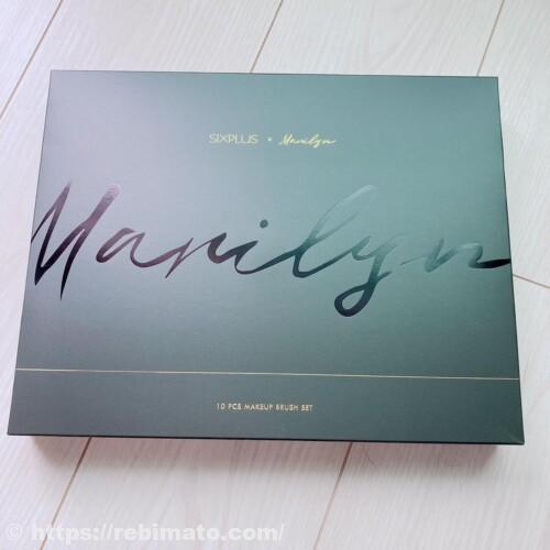 SIXPLUS(シックスプラス) マリリン コラボメイクブラシ10本セット Melodyシリーズ